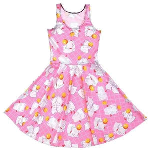 Pink Kitten Play Skater Dress Plus Size Kawaii Fashion Little Space CGL Pet Play