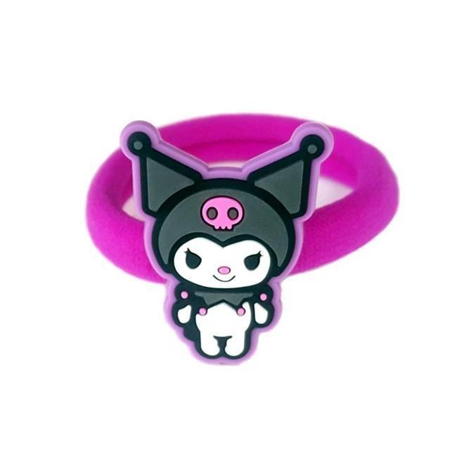Kuromi Clippies - Kuromi Hairband - accessories