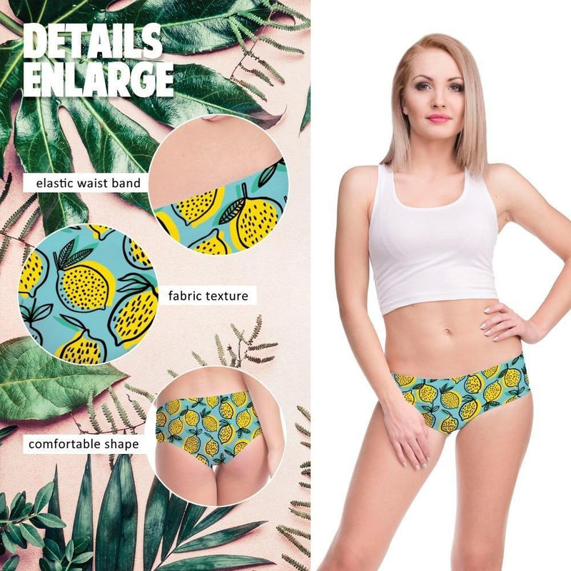 Lemon Fresh Panties - underwear