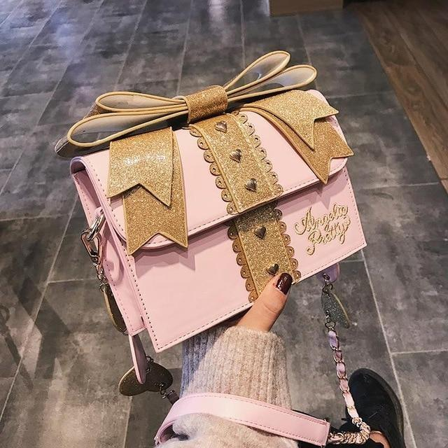 Little Gift Handbag - Pink - purse