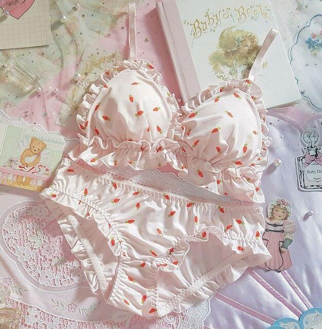 Little Paw Lingerie Set - Carrots / M - underwear