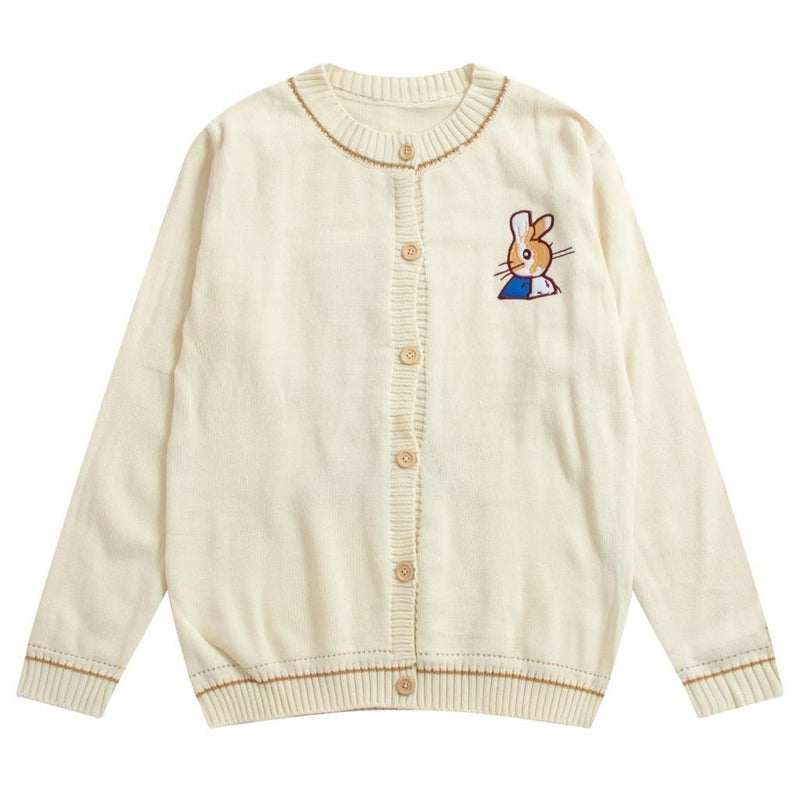 Short Sleeves ideal for summer New Peter Rabbit Knitted baby cardigan