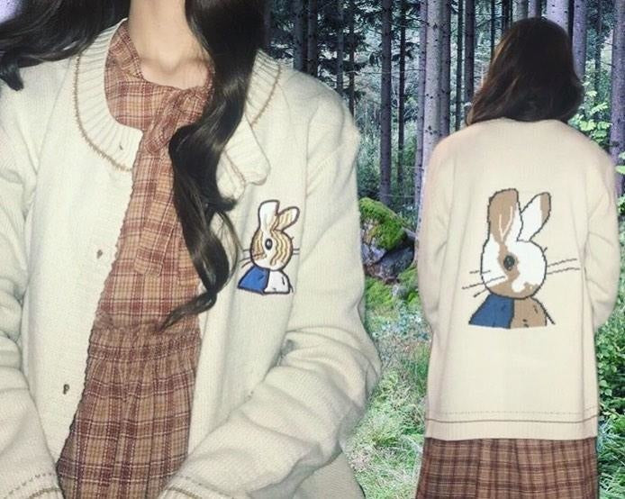 Little Rabbit Cardigan - cardigan