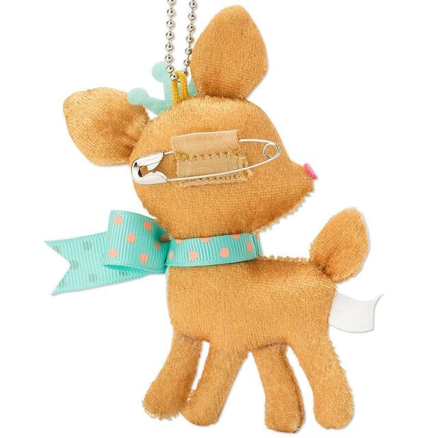Sanrio Hummingmint Deer Fawn Kawaii Plush Stuffed Animal Toy Keychain Fairy Kei Cute