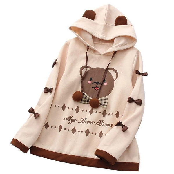 Love Bear Hoodie - sweater