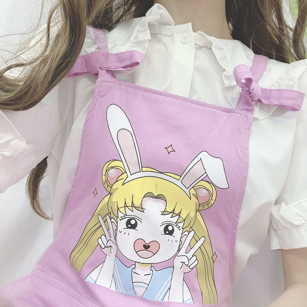 Magical Girl Overalls - jumper