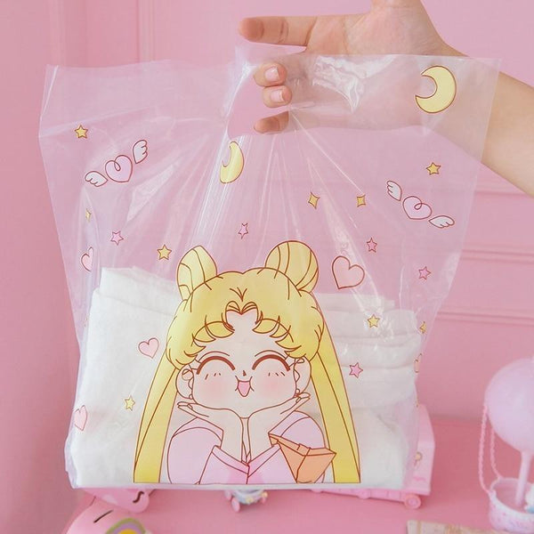 Magical Girl Shopping Bags (50 pcs) - bag
