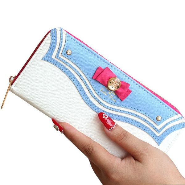 Sailor Moon Wallet Coin Purse Bag Magical Girl Mahou Shoujo Kawaii Babe