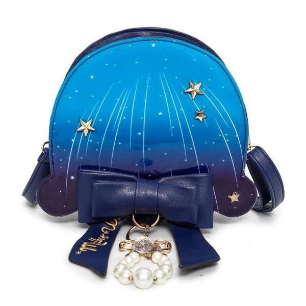 Majestic Jellyfish Purse - Dark Blue - bag