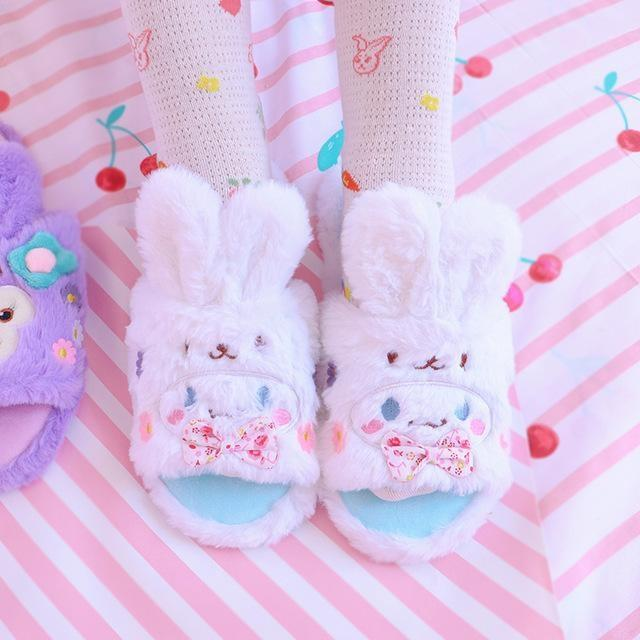 Melody Bun Slippers - Cinnamoroll / Small (Size 5-7) - shoes