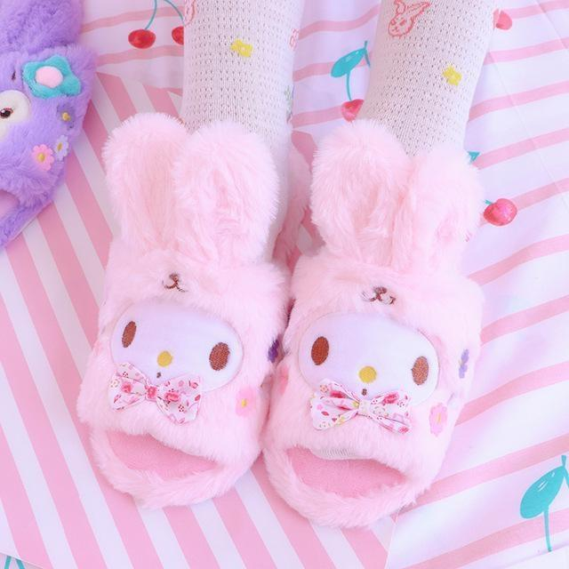 Melody Bun Slippers - Melody Floppy Ears / Small (Size 5-7) - shoes