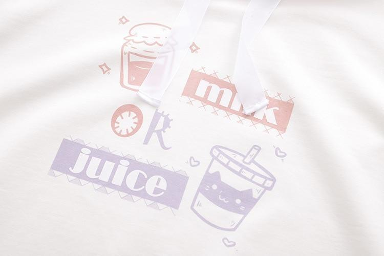 Milk Or Juice Hoodie - sweater