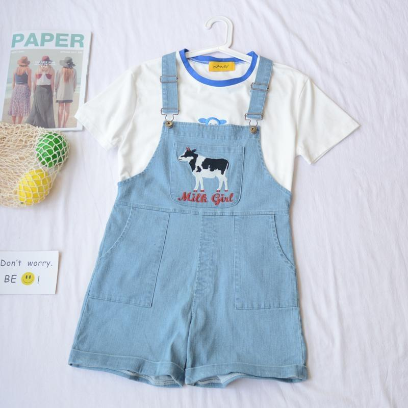 Milky Moo Coveralls - overalls