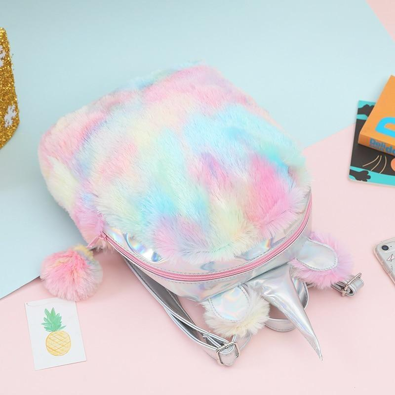 Milky Pastel Unicorn Backpack - backpack