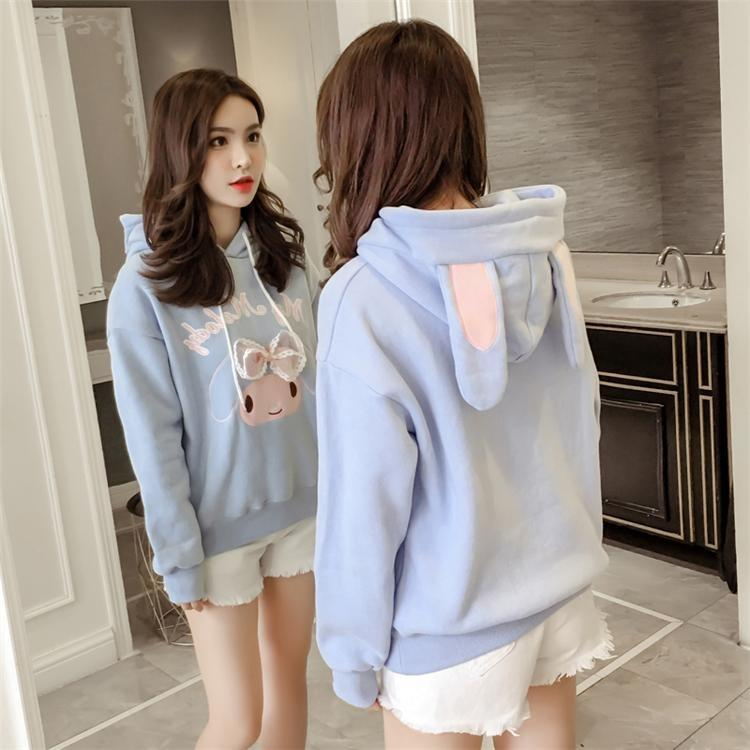 My Melody Hoodie - Sky Blue - sweater