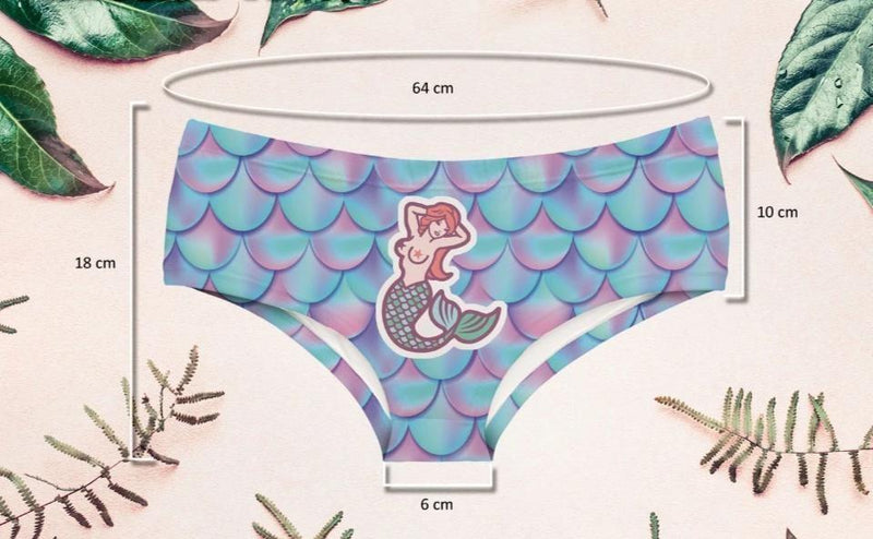 Naughty Mermaid Panties - underwear