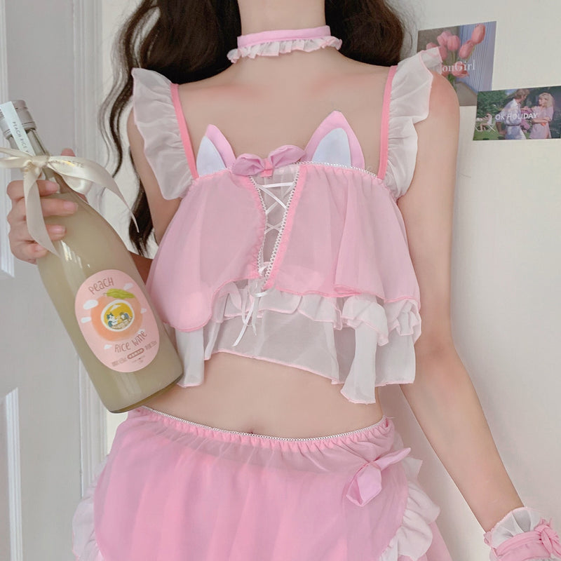Neko Maid Lingerie Set