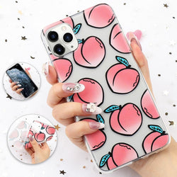 Just Peachy iPhone Case - 3d iphone case, apple iphone, iphones, fruit, fruits