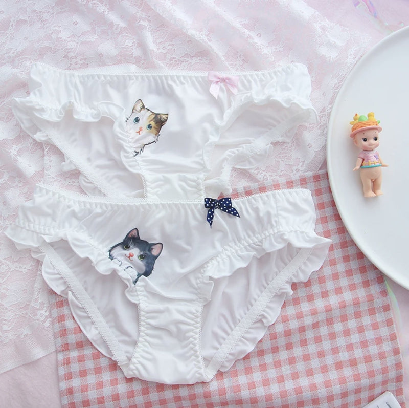 Peekaboo Kitten Panties - ab dl, abdl, adult baby, baby diaper lover,