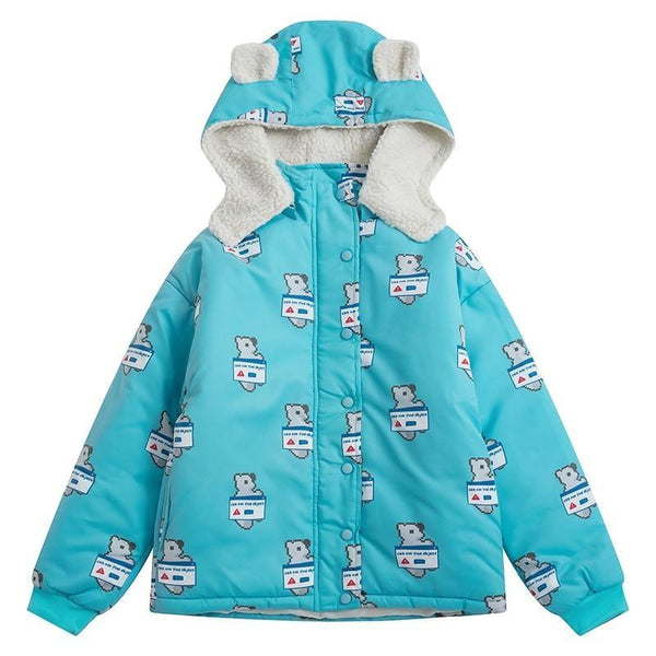 Polar Bear Winter Coat - S - jacket
