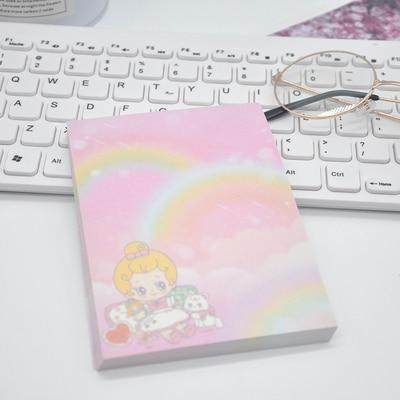 Pastel Rainbow Baby Stationery Pad