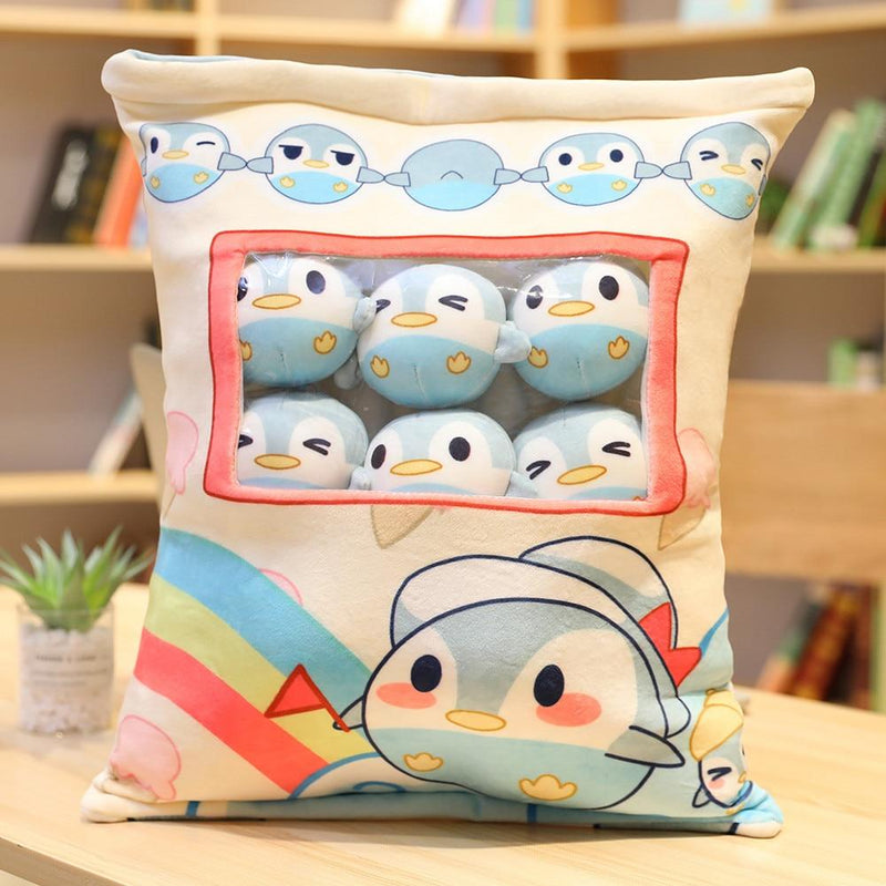 Bag Of Penguin Plushies