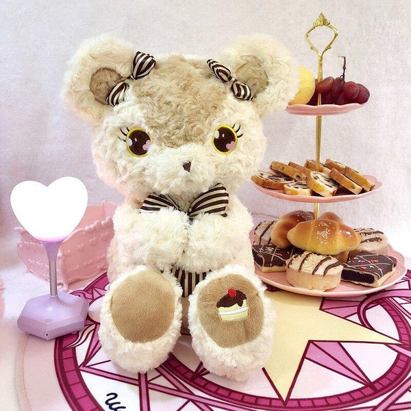 Baby Bear & Bun Plush Set