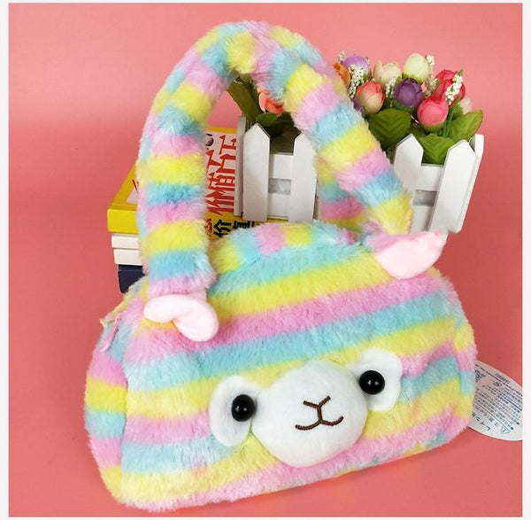 Plush Alpaca Handbag