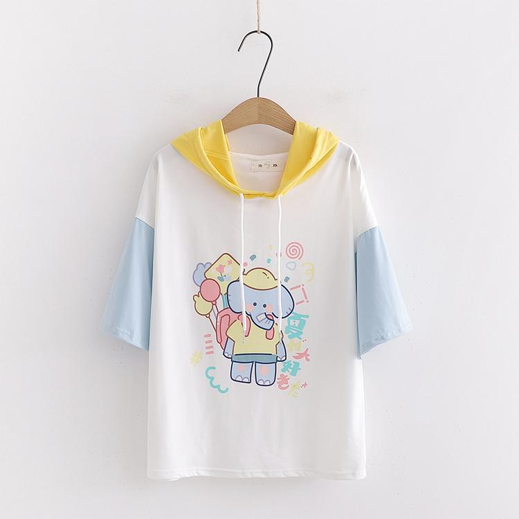 Party Time Elephant Hoodie