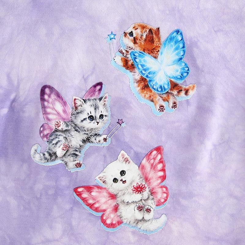 Butterfly Kitten Crop Top