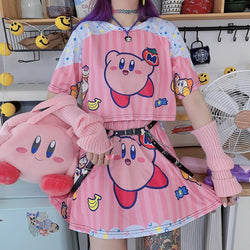 Kirbylicious Top & Skirt Set