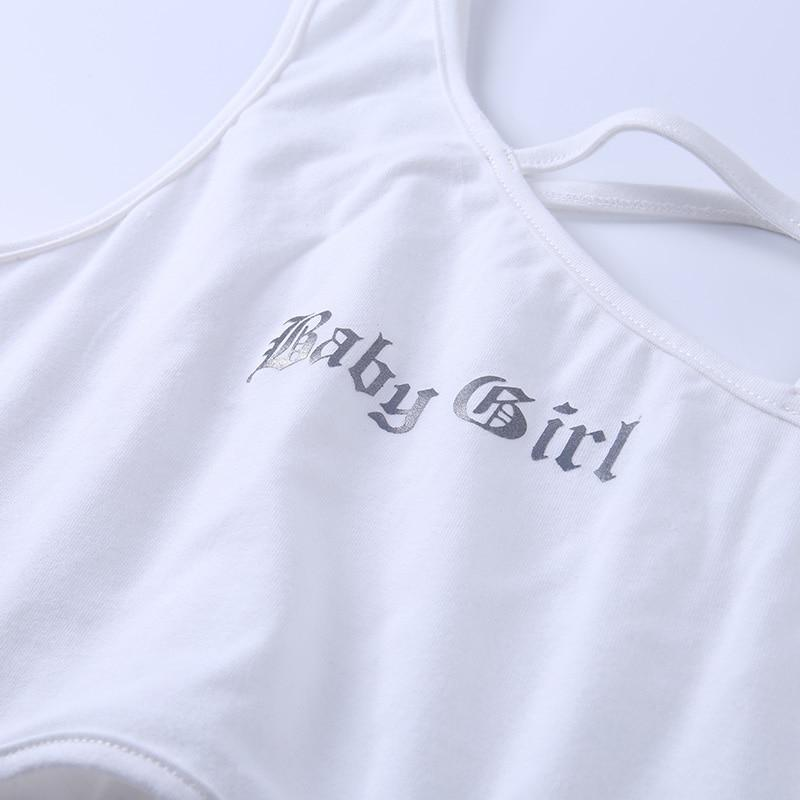 Baby Girl Asymmetrical Tank