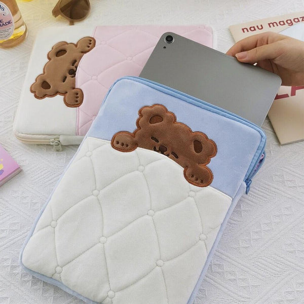Sleepy Bear iPad Case