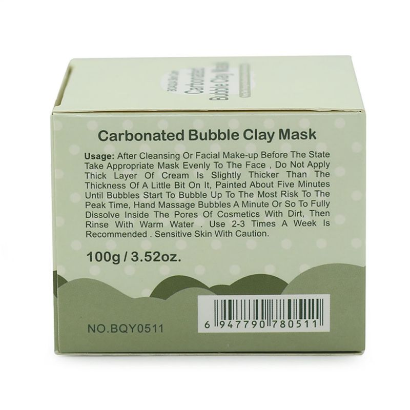 Carbonated Bubble Mask