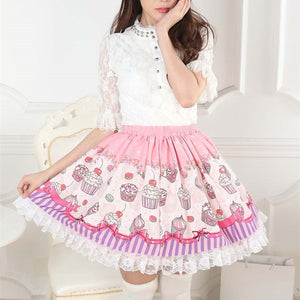 Cupcake Ruffled Skirt