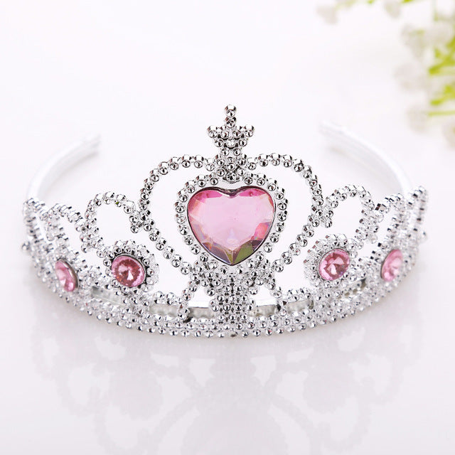 princess tiara crown rhinestone diamond disney frozen magic wand jewels gemstones royal cgl ddlg little space kawaii babe