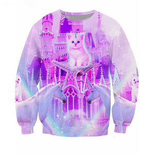 Unicorn Cat Crewneck