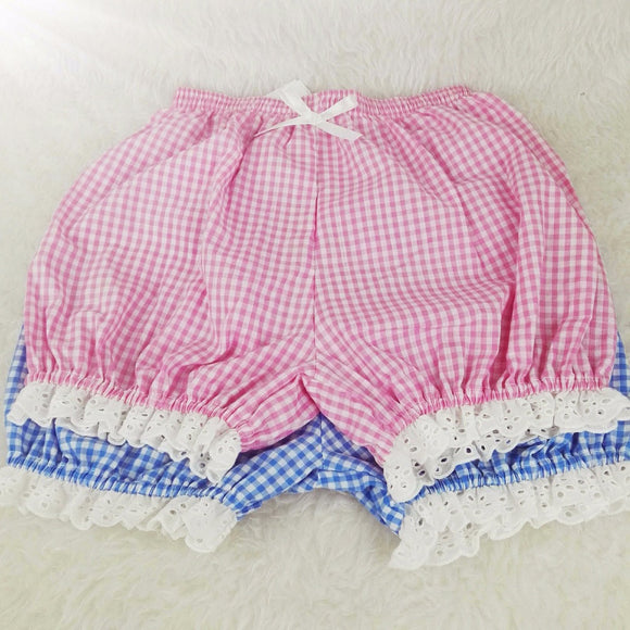 Plaid & Lace Bloomers