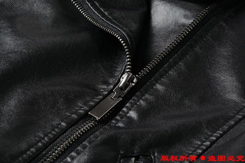 vegan leather motorcycle jacket edgy punk pleather asymmetrical zipper zip up coat spring fall fashion aesthetic by kawaii babe