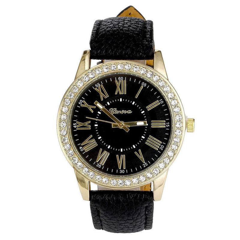 Diamond Encrusted Watch
