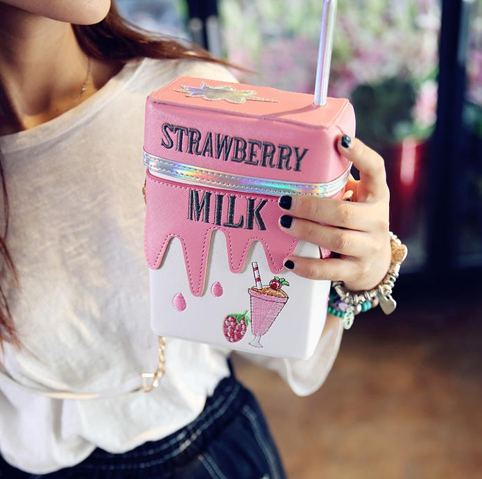 Strawberry Milk Handbag