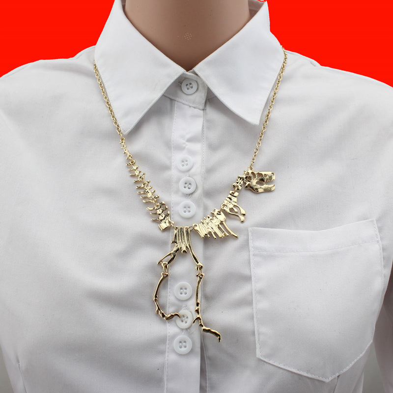 T-Rex Statement Necklace