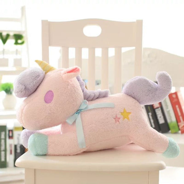magical unicorn plush toy glow in the dark led little twin stars sanrio pastel fairy kei by kawaii babe