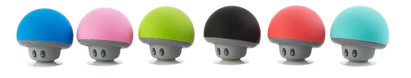 waterproof bluetooth mushroom speaker with built in microphone hands free mic device portable nintendo kawaii mushroom toadstool by kawaii babe