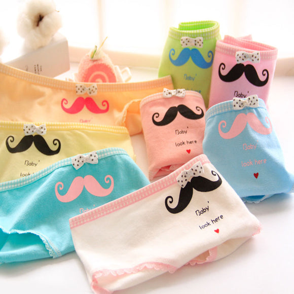 black moustache full brief underwear panties lingerie hipster mustache smile by kawaii babe