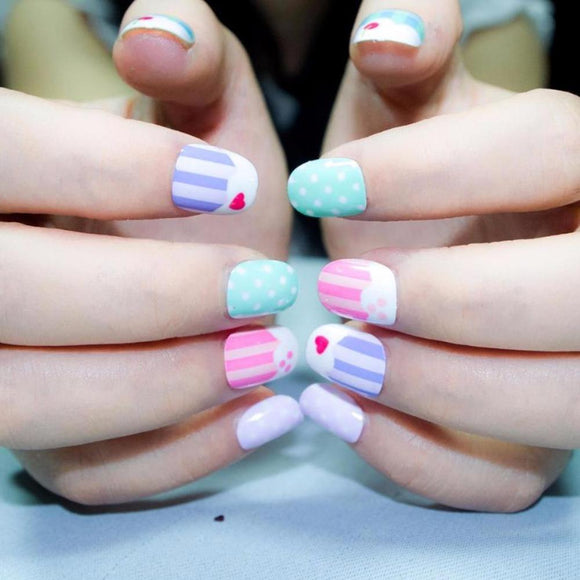 Candy & Cake False Nails
