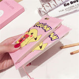 Pink Pikachu Candy Wrapper Pocket iPhone Case Apple Phone Protector 3D Rubber