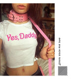 Yes, Daddy? Crop Top