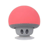 waterproof bluetooth mushroom speaker with built in microphone hands free mic device portable nintendo kawaii red mushroom toadstool by kawaii babe