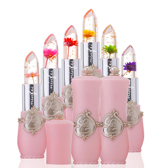 Flower Jelly  Lipstick - Long Lasting & Waterproof